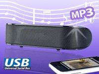 auvisio Mobiler 2.1 Kompakt-USB-Lautsprecher