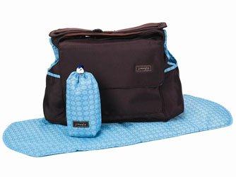 Jimeale New York Diaper Bag, Hunter