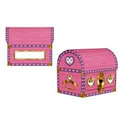 Princess Treasure Chest Party Accessory (1 count) (1/Pkg)