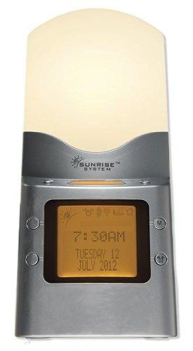 Sunrise Dawn Sun Simulator Alarm Clock Light