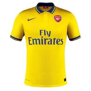 ARSENAL Adult 2013/2014 Away Football Shirt, L