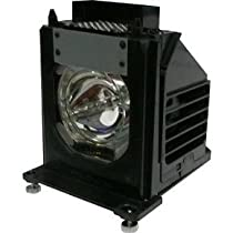 Electrified Replacement Lamp with Housing for WD-57733 WD57733 for Mitsubishi Televisions - 150 Day Electrified Warranty
