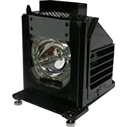 Electrified 915P061010 Replacement Lamp with Housing for Mitsubishi TVs - 150 Day Electrified Warranty