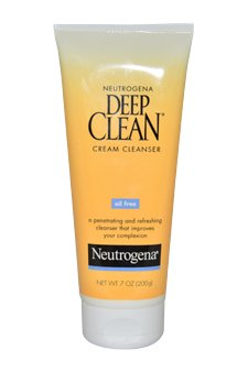 Neutrogena Neutrogena Deep Clean Oil Free Cream Cleanser, 7