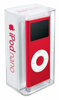 Apple iPod nano 4 GB Red (2nd Generation)