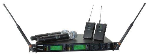Shure Ur124D/Beta87C Dual-Channel Combo Wireless System, J5
