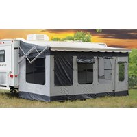 RV Awning Screen Room Motorhome Awning Shade Room fits 16' and 17' Travel Trailer and 5th Wheel Awnings