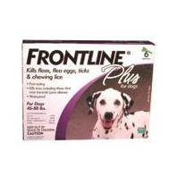 Frontline Plus Purple 45-88 6 pk USA/EPA
