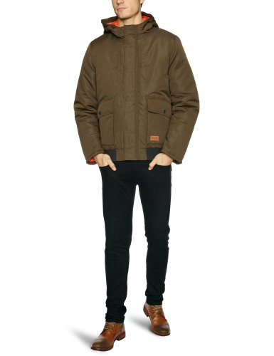 Jack and Jones Rasmus Men's Coat Woody Brown XX-Large