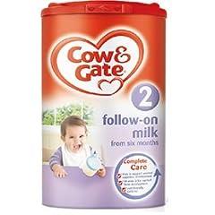 Cow&Gate乳児用粉ミルク 【6~12カ月の赤ちゃん向け】 900gの商品イメージ