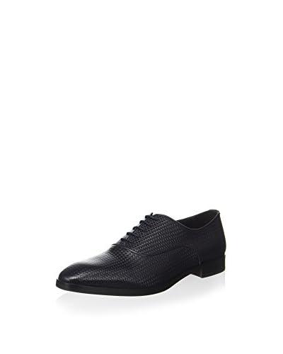 ZZ_Pollini Zapatos Oxford Azul Marino