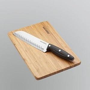 "Gordon Ramsay Everyday 7"" Santoku Knife with Board"