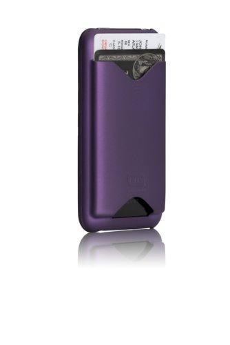Case-Mate iPhone3G/3GS 専用 カードホルダー付ハードケース ID Case マット・パープル IPH3GID-PRP
