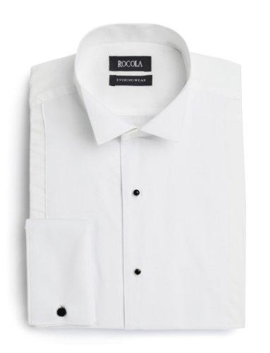 Rocola Mens Wing Collar Marcella Dress Shirt 15.5