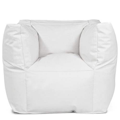 Pushbag Sitzsack Valley Light (100% Polyester), 90x60x65cm, 500l, white online bestellen
