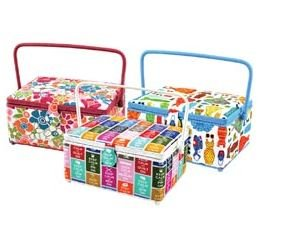 Great Features Of Rectangular Sewing Basket 14 Inch X10 Inch X6-1/2 Inch
