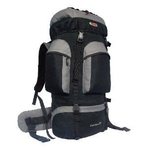 Cuscus 6200Ci 88L Internal Frame Hiking Camp Travel Backpack Gray front-45662