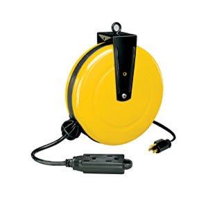 alert 500050gcb pro reel retractable cord reel. Black Bedroom Furniture Sets. Home Design Ideas