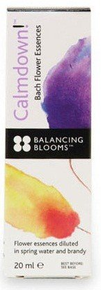 Balancing Blooms Calmdown! Flower Essences - 20ml