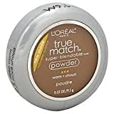 L'oreal True Match Super Blendable Powder Compact With Mirror 9g-W9.5 Deep Warm