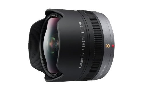 Panasonic Micro Four Thirds 8mm Wideangle Lens (35mm Equivalent: 16mm)