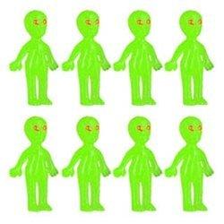 Glow Aliens (1 dz)