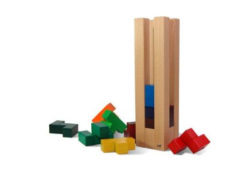 Naef-campanile legno Torre, multicolore