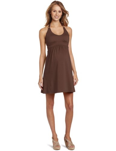 Wrapper Halter-Fit Maternity Dress