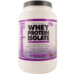 Whey Protein Isolate Mixed Berry Bluebonnet 2 Lbs Powder