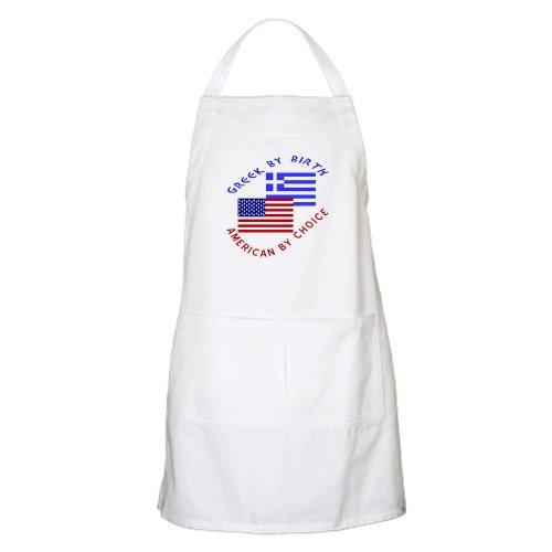 Cafepress Greek By Birth American By Choice Apron - Standard