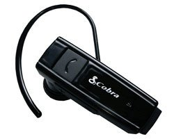 Cobra Premium Over-The-Ear Bluetooth Headset W/In-Ear Speaker Easy Pairing Led Status Indicator