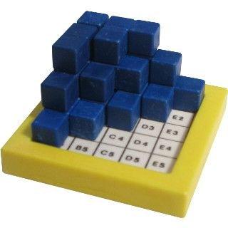 Cheap Fun Logika Spiele Mini-Building Game (Mini-Baumeisterspiel) (difficulty 8 of 10) (B00415JNV2)