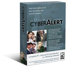 Office Cyber Alert (CD+Download): Internet Activity Monitoring & Keylogger & PC Monitoring & Chat Monitoring. Monitor your business and home PC & Internet activities. BUY THE LATEST EDITION DIRECTLY FROM THE MAKER OF THE SOFTWARE. GET LATEST UPDATES & PREMIUM SUPPORT. FREE SHIPPING. 4-user license included.