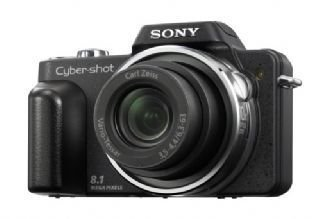 Sony DSCH3B Digital Camera (8.1MP, 10x Optical zoom) 2.5