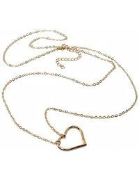 Sexy Bikini Peach Heart Belly Chain Waist Chain Body Chain Necklace