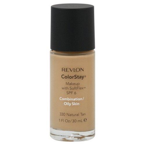 Revlon ColorStay Makeup Combination/Oily Skin Natural Tan - Fondotinta Confezione Doppia