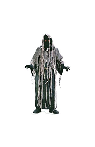 Gauze Zombie Costume with Flashing Eyes Adult
