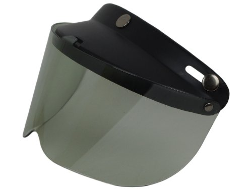 Bike Helmets Best 3 Button Snap Half Helmet Visor Shield Fit Most