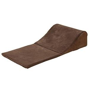 ウレタン入り ごろ寝クッション 『コルテ TV枕』 ブラウン 44×90cm