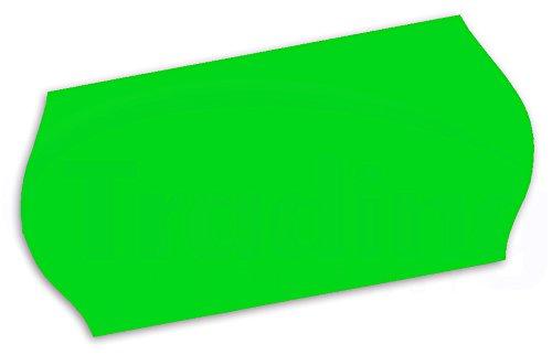 26 x 12mm CT4 etiquettes vert (green) pour etiqueteuse prix 10 rouleaux (10,000 etiquettes) (Price Gun Labels)