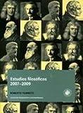 img - for Estudios Filosoficos 2007 2009 book / textbook / text book