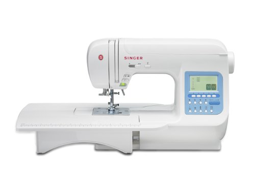 SINGER 9970 600-Stitch (1000+ Stitch Function) Computerized Sewing Machine with Extension Table, Bonus Accessories and Hard Cover (Singer Sewing Machine Quantum compare prices)