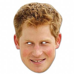Celebrity Masks - Prince Harry