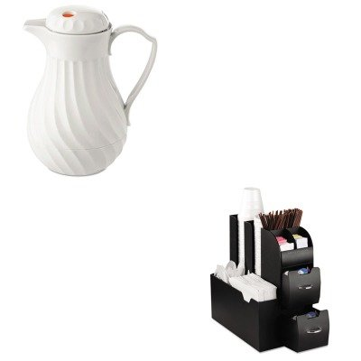 KITEMSCAD01BLKHOR4022 - Value Kit - Hormel Poly Lined Carafe (HOR4022) and Ems Mind Reader Llc Coffee Organizer (EMSCAD01BLK)