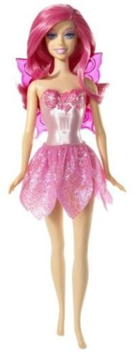Barbie Pink Fairy Doll - 1