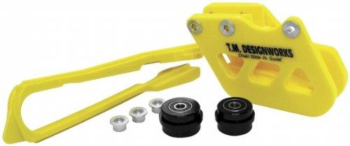 T.M. Designworks Dirt Cross Moto Chain Slide-N-Guide Kit - Yellow Scp-Sx2-Yl
