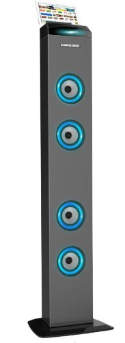 Southern Telecom Tower Bluetooth Wireless Speaker, Features Digital Volume Control, Programmable Fm Radio Tuner With Voice Prompts For Channels, Usb Charging Function & Aux In Jack 3.5 Mm, Dc External Power Supply