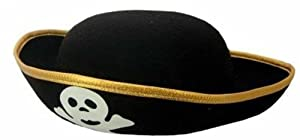 Kid's Felt Pirate Party Hat