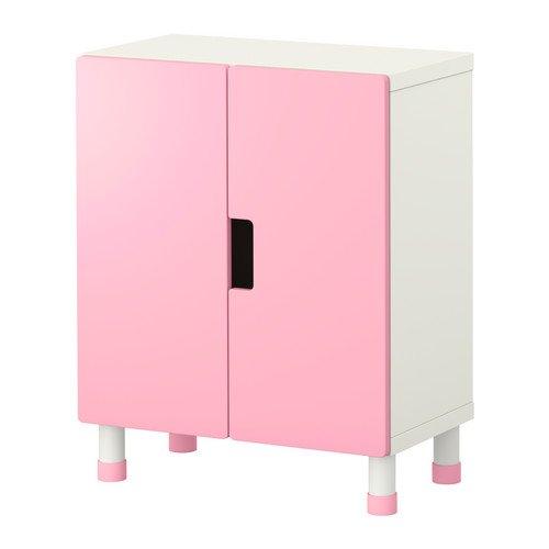 IKEA STUVA-combinaison de rangement avec portes, blanc, pink60x 30x 75cm