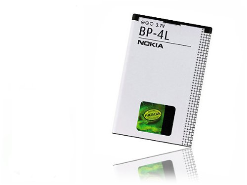 Batteria Originale Nokia BP-4L (1500 mAh - Li-ion - 3,7V) per Nokia 6650 T-Mobile, 6760 Slide, E52, E55, E61i, E63, E71, E72, E90 Communicator, , N810 Internet Tablet, N810 WiMax Edition, N97,.. Garantia: 12 mesi / Foneshop